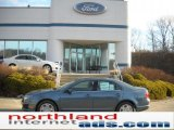 2011 Steel Blue Metallic Ford Fusion SE #46653826