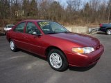 2001 Toreador Red Metallic Ford Escort SE Sedan #46653985