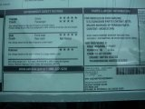 2011 Chevrolet Silverado 1500 LS Regular Cab 4x4 Window Sticker
