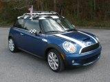 2007 Lightning Blue Metallic Mini Cooper S Hardtop #46654478