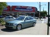 2003 Grey Green Metallic BMW 3 Series 325i Coupe #4666828
