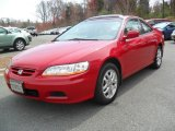 2002 San Marino Red Honda Accord EX V6 Coupe #46654308