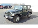 2011 Natural Green Pearl Jeep Wrangler Sport 4x4 #46654562