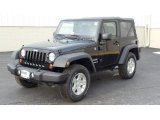 2011 Black Jeep Wrangler Sport S 4x4 #46654563
