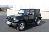 2011 Jeep Wrangler Natural Green Pearl