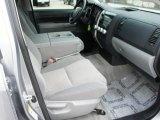 2010 Toyota Tundra Double Cab 4x4 Graphite Gray Interior