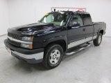 2004 Black Chevrolet Silverado 1500 Z71 Extended Cab 4x4 #46697050