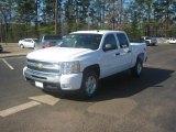 2011 Summit White Chevrolet Silverado 1500 LT Crew Cab 4x4 #46698034