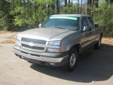 2003 Light Pewter Metallic Chevrolet Silverado 1500 Z71 Extended Cab 4x4 #46698036