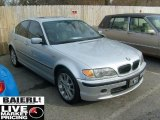 2003 Titanium Silver Metallic BMW 3 Series 330xi Sedan #46697328