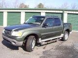 2002 Estate Green Metallic Ford Explorer Sport Trac 4x4 #46697492