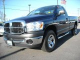 2007 Patriot Blue Pearl Dodge Ram 1500 SXT Regular Cab 4x4 #4656195