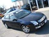 2008 Black Ebony Ford Fusion SEL #46697354