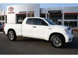 2010 Super White Toyota Tundra TRD Rock Warrior Double Cab 4x4 #46697362
