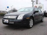 2008 Dark Blue Ink Metallic Ford Fusion S #4656183