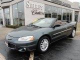 2002 Onyx Green Pearl Chrysler Sebring LXi Convertible #46697513