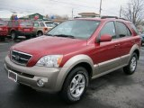 2003 Kia Sorento Ruby Red Metallic