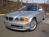 2001 Titanium Silver Metallic BMW 3 Series 325i Coupe #46697750