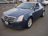 2009 Blue Diamond Tri-Coat Cadillac CTS Sedan #46697382