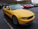 2012 Ford Mustang C/S California Special Convertible Data, Info and Specs