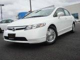 2007 Taffeta White Honda Civic Hybrid Sedan #4659918