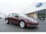 2011 Bordeaux Reserve Metallic Ford Fusion SE #46697555