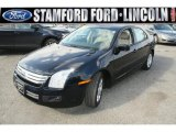 2008 Dark Blue Ink Metallic Ford Fusion SE V6 AWD #46697413