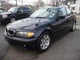 2002 Orient Blue Metallic BMW 3 Series 325i Sedan #46697576