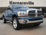 2006 Atlantic Blue Pearl Dodge Ram 1500 SLT Quad Cab 4x4 #46697933