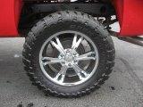 2008 Chevrolet Silverado 1500 Z71 Extended Cab 4x4 Custom Wheels