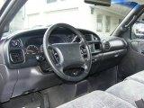 1999 Dodge Ram 1500 SLT Regular Cab Agate Black Interior