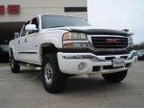 2003 Summit White GMC Sierra 2500HD SLT Crew Cab 4x4 #46750344