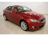 2008 Matador Red Mica Lexus IS 250 AWD #46750362