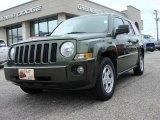 2007 Jeep Green Metallic Jeep Patriot Sport 4x4 #46750049