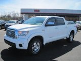 2011 Super White Toyota Tundra Limited CrewMax 4x4 #46750257