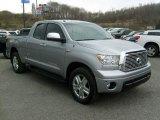 2010 Silver Sky Metallic Toyota Tundra Limited Double Cab 4x4 #46750391
