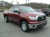 2010 Salsa Red Pearl Toyota Tundra TRD Double Cab 4x4 #46750395