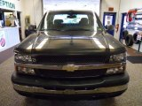 2003 Dark Gray Metallic Chevrolet Silverado 1500 LS Extended Cab 4x4 #46750178