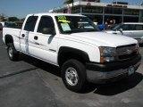 2003 Summit White Chevrolet Silverado 2500HD LT Crew Cab #46750462