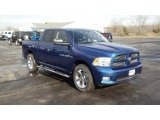 2011 Dodge Ram 1500 Deep Water Blue Pearl