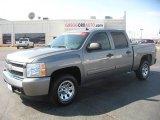 2008 Graystone Metallic Chevrolet Silverado 1500 LT Crew Cab #46776824