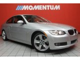 2009 Titanium Silver Metallic BMW 3 Series 335i Coupe #46776837
