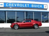 2005 Redfire Metallic Ford Mustang V6 Premium Coupe #46776221