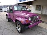 1997 Jeep Wrangler Magenta