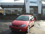 2003 Sangria Red Metallic Ford Focus ZX3 Coupe #46776518