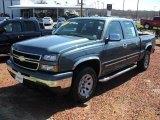2007 Blue Granite Metallic Chevrolet Silverado 1500 Classic LS Crew Cab 4x4 #46777164