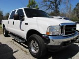 2004 Oxford White Ford F250 Super Duty Lariat Crew Cab 4x4 #46776538