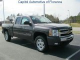 2011 Taupe Gray Metallic Chevrolet Silverado 1500 LT Extended Cab #46777186