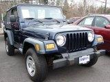 2006 Midnight Blue Pearl Jeep Wrangler SE 4x4 #46777212