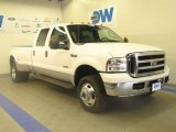 2005 Oxford White Ford F350 Super Duty Lariat Crew Cab 4x4 Dually #46776905